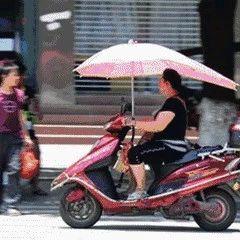 【警方】宿迁电动车遮阳伞,该说再见了!